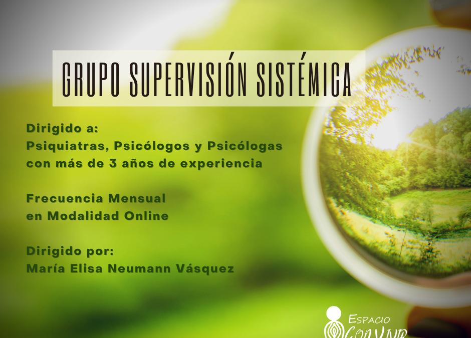 Grupo Supervisión Sistémica Online 2021